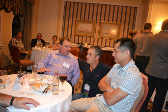 Photo: ASHRAE Toronto President David Benedetti (Center)