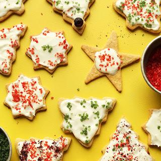 Gluten Free Sugar Cookies (Vegan)