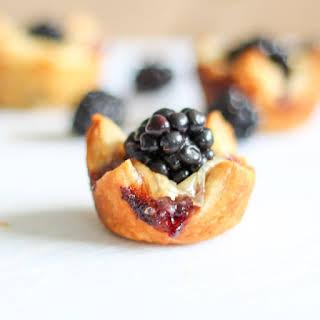 Brie & Blackberry Pastry Bites.