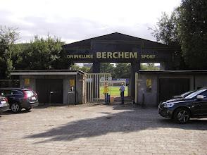 Photo: Ingang Ludo Coeckstadion - Berchem Sport .....
