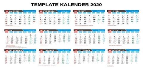 Kalender 2020 Pasaran Jawa