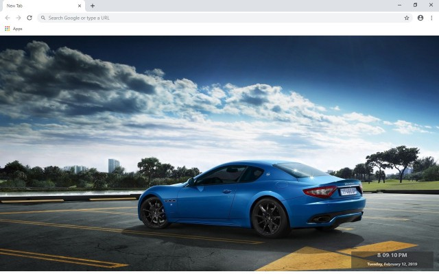 Maserati GranTurismo New Tab