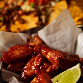 Sriracha & Bourbon Chicken Wings