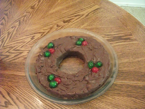 Five-minute Fudge Wreath Recipe