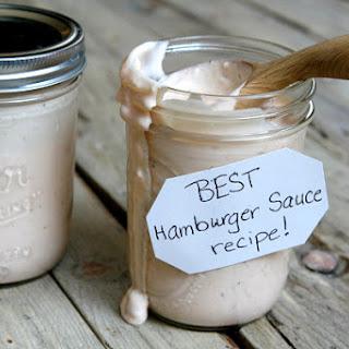 Best Burger Sauce Ever