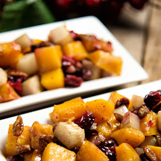 Roasted Butternut Squash and Turnips Recipe