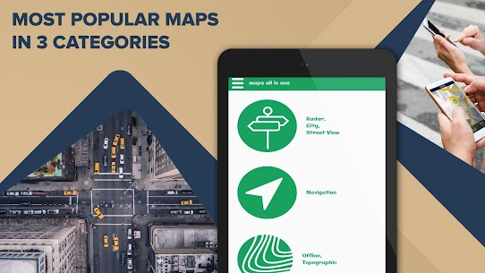 Maps All in One: Navigation, Radars, Speed Cameras 5
