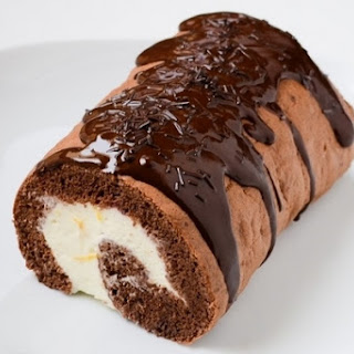 Sponge Roll with Coconut Filling Recipe