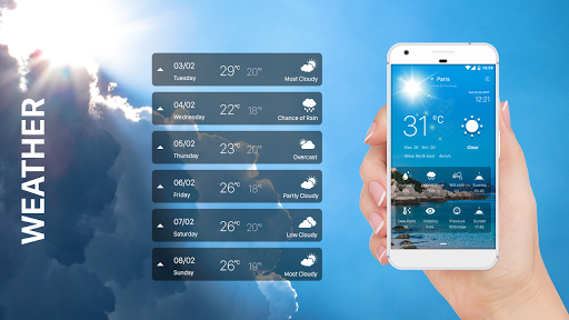 weather app (apk) free download for Android/PC/Windows screenshot