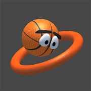 Jump Shot -Bouncing Basketball