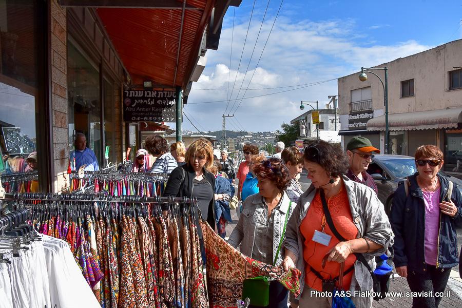 В друзской деревне Далит-Эль-Кармель. Экскурсия гида по Израилю Светланы Фиалковой.