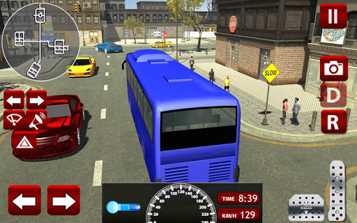 coach bus driver simulator 3d screenshot 3