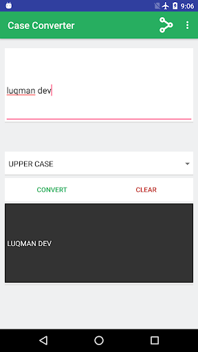 Screenshot 2 Case Converter