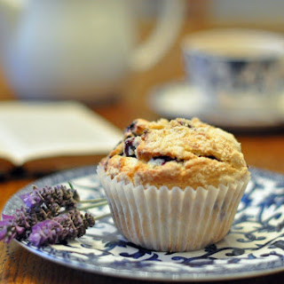 Fresh Blueberry Muffins.