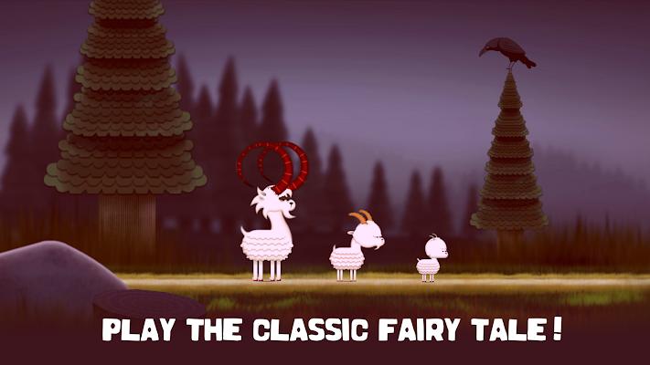 The three Billy Goats Gruff- screenshot