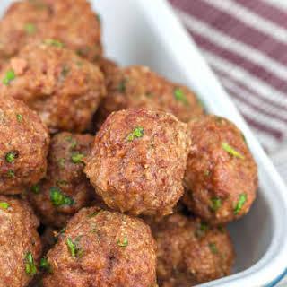 Easy Meatballs.