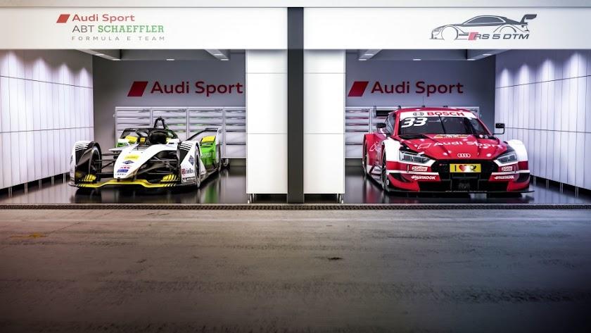 Audi apunta al futuro con la Fórmula E y el DTM