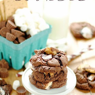Reese's S'mores Chocolate Cookies