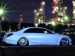 Sクラス W222 550ロング  AMGスポーツパッケージのカスタム事例画像 あきら  specialists☆さんの2019年10月01日06:06の投稿