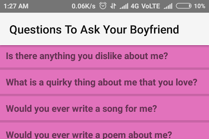 All Posts About Good Questions To Ask Your Boyfriend Dirty On This
