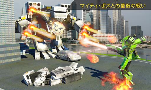 未来的なロボットの車の戦争2017: Earth Wars