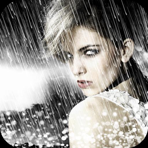Water Overlay Photo Blender App Icon