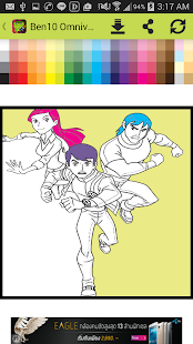 Game Coloring Book Ben10 Kids APK For Windows Phone