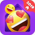 IN Launcher - Love Emojis & GIFs, Themes icon