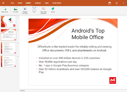 OfficeSuite Pro + PDF- screenshot thumbnail
