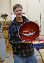 Photo: Yes, Doug Pearson really turned and finished a sink.  That's a 'wow'.  Nice job.