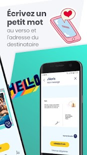 Youpix. Carte postale et timbre photo Capture d'écran
