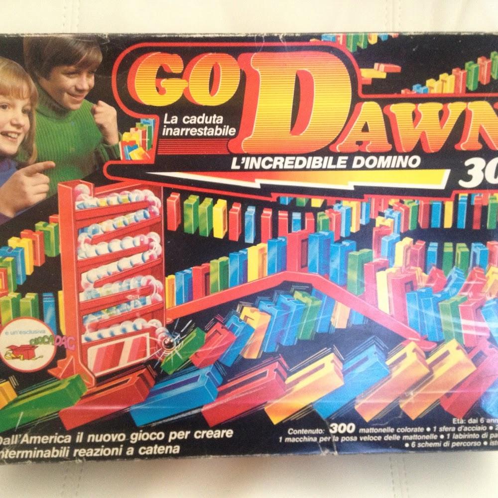 Gioco Go Dawn domino completo