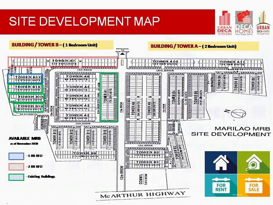Urban Deca Homes Marilao, Bulacan site development plan