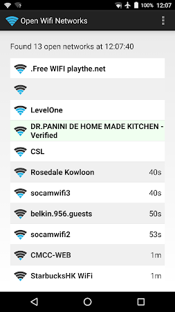 Open Wifi Network Finder 140.2165e7a screenshot 1467821