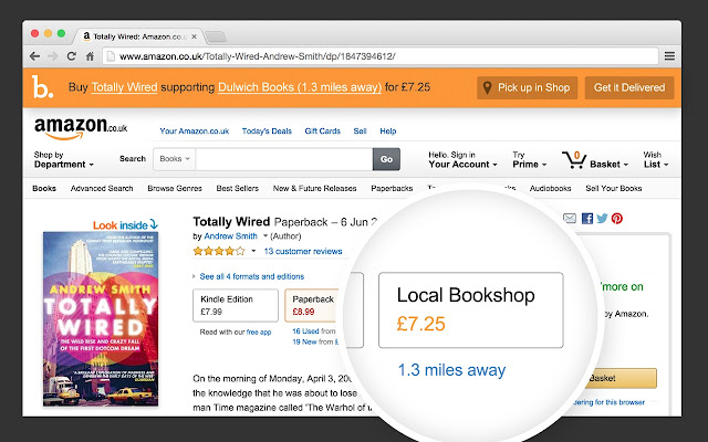 Bookindy – Browse Amazon, buy independent