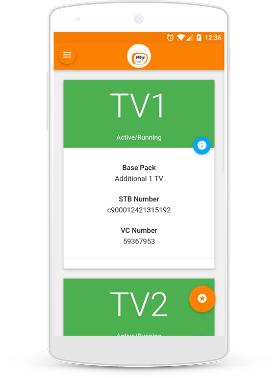 MyCableTV- screenshot