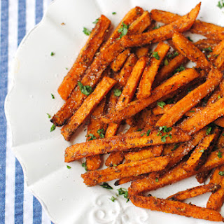 Sweet and Spicy Sweet Potato Fries.