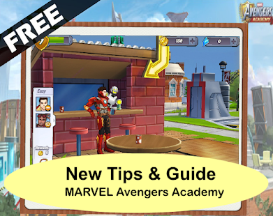 Guide MARVEL Avengers Academy Tips - náhled