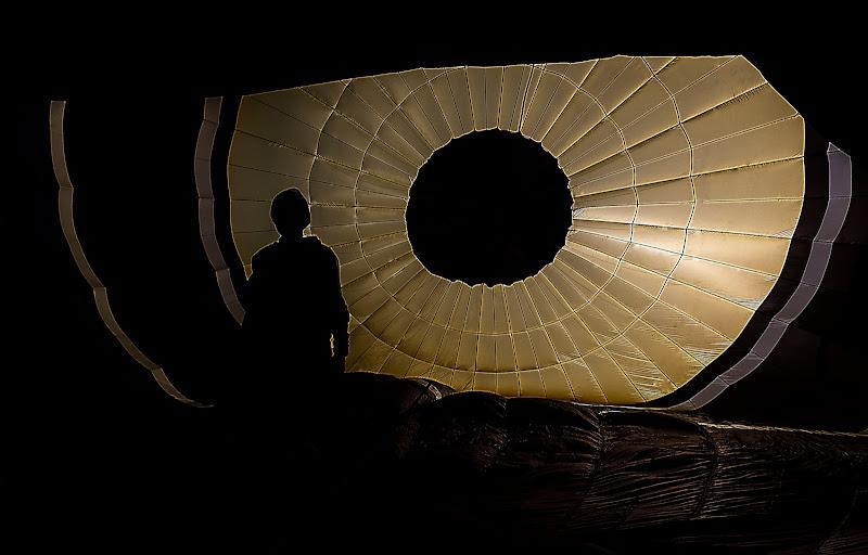 Nell'occhio della mongolfiera.... di Ocram