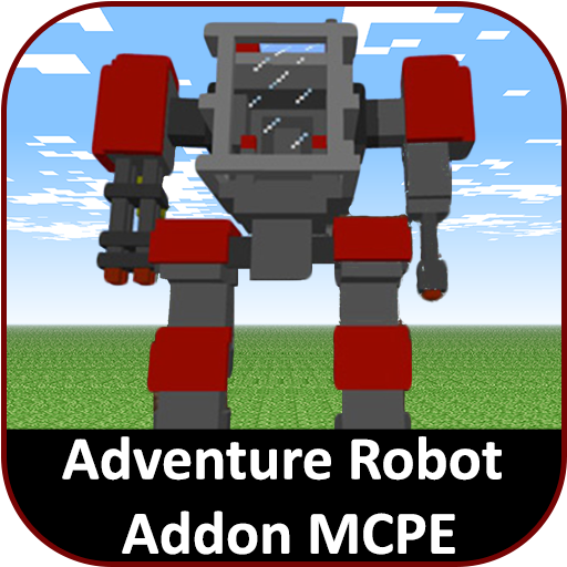 Robot Mod for Robocraft Addon for Minecraft PE for PC