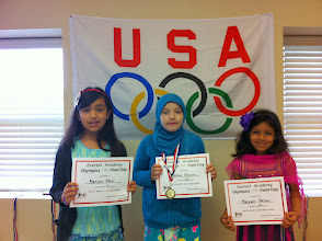 Photo: Jump Rope Salma H. (1st) Mariam (2nd) Maryam F. (3rd)