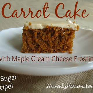 Low Sugar Cream Cheese Frosting Recipes.