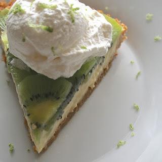 Kiwi Lime Pie.