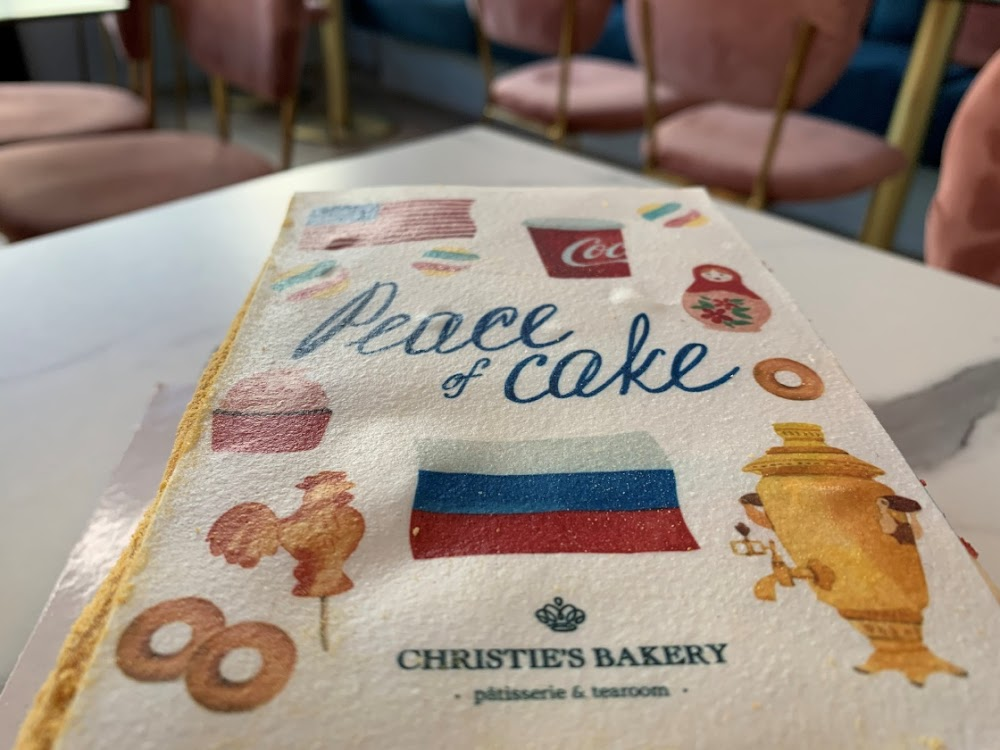Swiss baker invents 'Peace Cake' for Biden-Putin summit