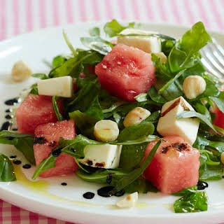 Watermelon Caprese Salad.