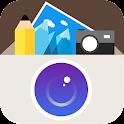 全能相机-美颜滤镜拼图贴纸美食相机搞笑相机特效相机 icon