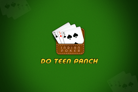 Do Teen Panch (2 3 5) - Indian Poker - náhled