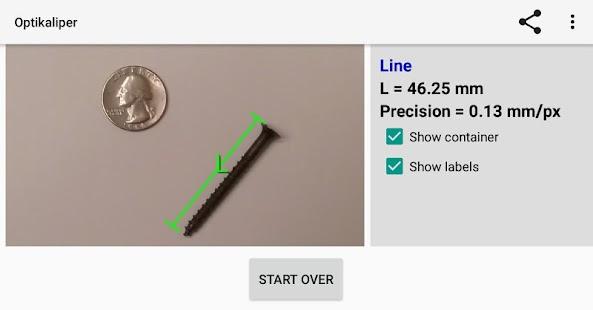 Optikaliper Virtual Ruler Measuring Tool - náhled