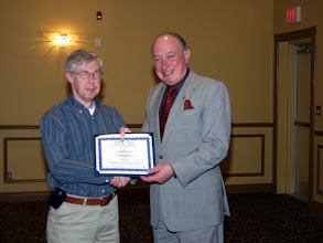 Photo: Chris Frauley received a TEGA Award on behalf of RJ McKee Engineering