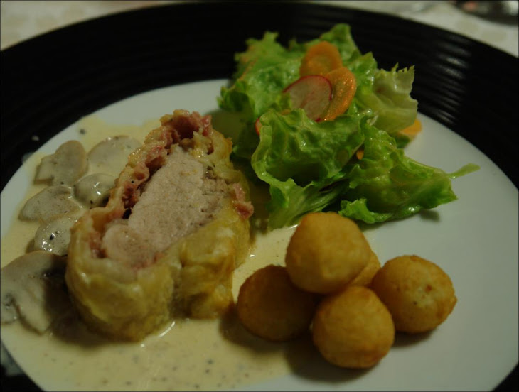 Pork Tenderloin and bundled together with Jeropiga